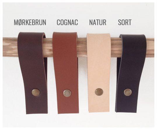 Corfixens læderfarver