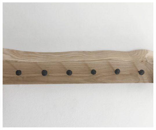 Corfixens knagerække med håndsmedede søm