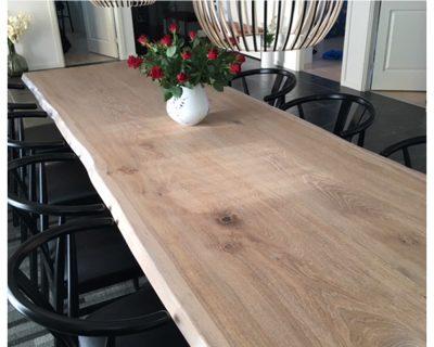 Plankebord, egetræ