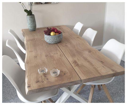corfixens plankebord med hvide ben