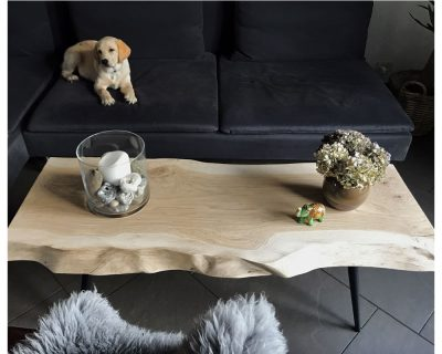 Planke-sofabord, eg