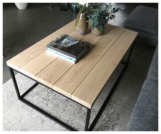corfixens sofabord med lige planker