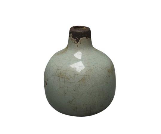 Frytle vase, grøn